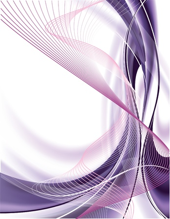 purple silk: Abstract Vector Background