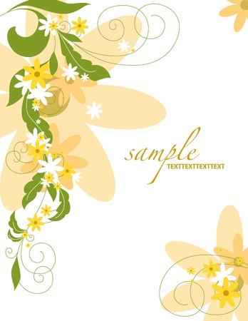 Floral Background  Vector Illustration  Eps10  Stock Vector - 13126012