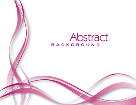 pink hills: Vector Background  Abstract Illustration