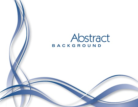 abstract waves: Vector Background  Abstract Illustration