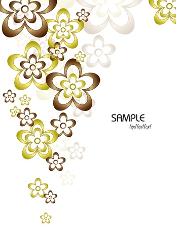 Floral Background  Vector Illustration  Eps10  Stock Vector - 13126063