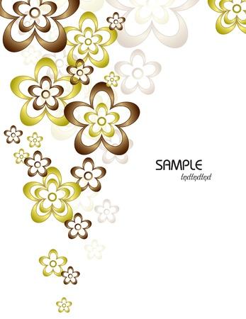 Floral Background  Vector Illustration  Eps10 Stock Vector - 13126063