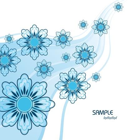 Floral Background  Vector Illustration  Eps10  Vector