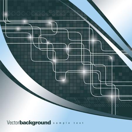 dark gray line: Vector ilustraci�n de fondo abstracto