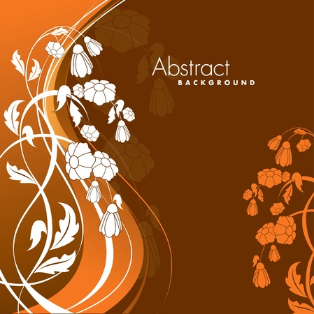Floral Background  Vector Illustration  Eps10  Vector