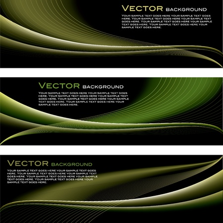 wave: Vector Background  Abstract Illustration