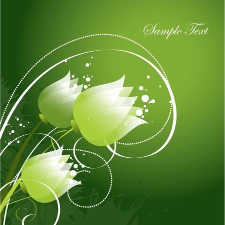 Floral Background Illustration Vecteur Eps10 Banque d'images - 13561384