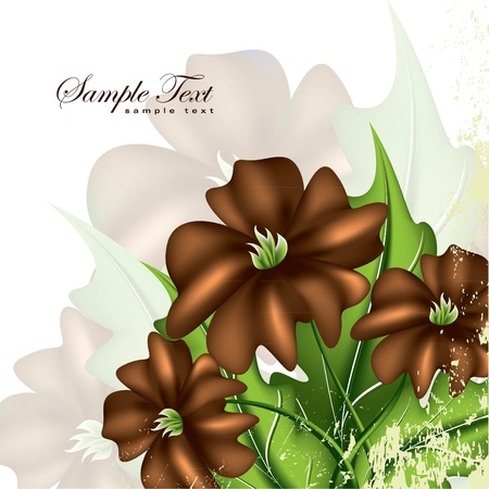Floral Background  Vector Illustration  Eps10  Stock Vector - 13561783