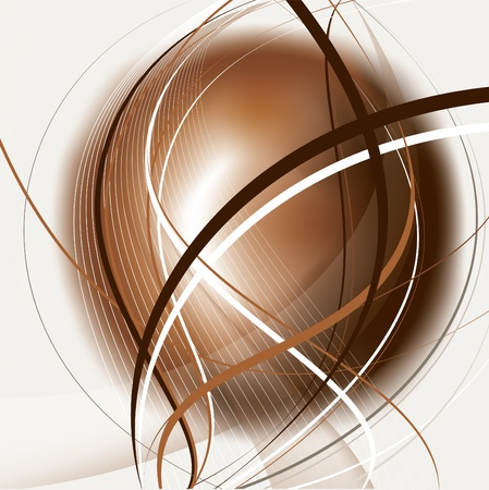 brown: Vector Background