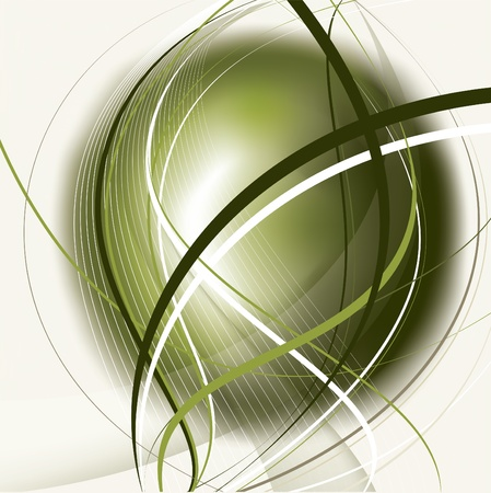 green lines: Vector Background
