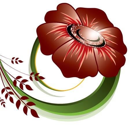 Floral Background  Vector Illustration  Eps10