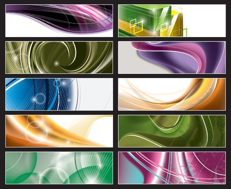 Vector Banners  Eps10   Vector