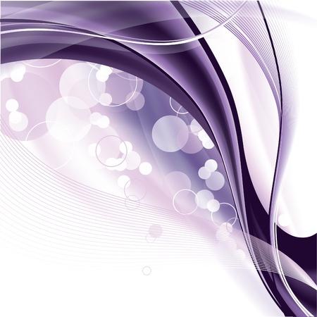 purple swirls: Vector Background
