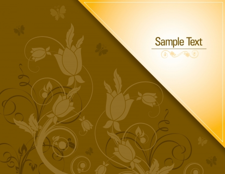 florish: Floral Background    Illustration