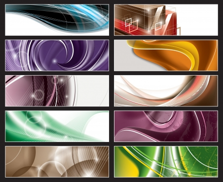 Banners Stock Vector - 13865963