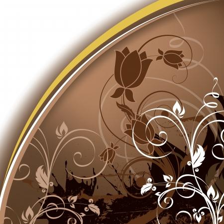 leave: Floral Background