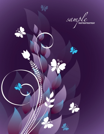 Floral Background   Illustration Stock Vector - 14083759