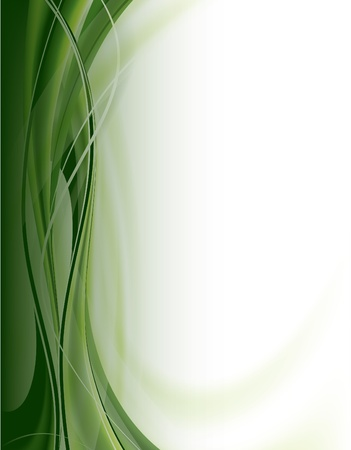 green swirl: Abstract   Background    Illustration