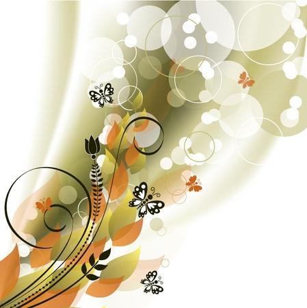 Flowers   Illustration Stock Vector - 14087653