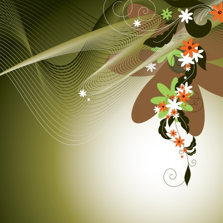 Flowers   Illustration  Vector