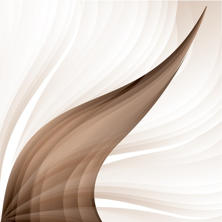 brown swirl:  Background  Illustration