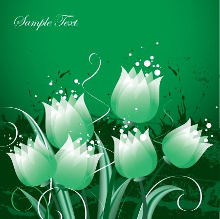 Tulipes Illustration Banque d'images - 14085478