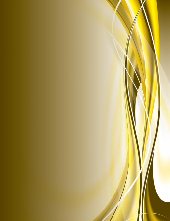 curve line: abstract background Illustration