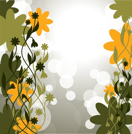 Floral Background    向量圖像