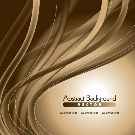 smooth curve design: abstract background Illustration