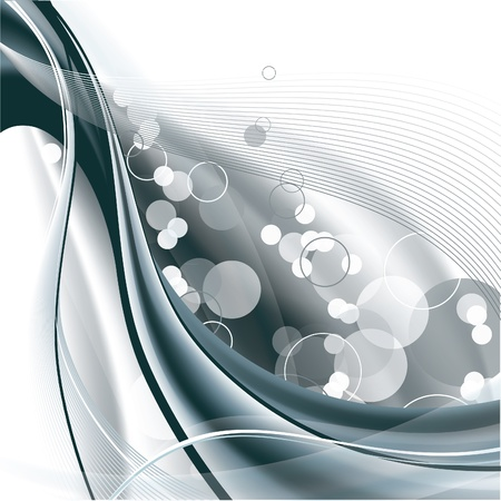 silver frame: Abstract Background  Vector Illustration