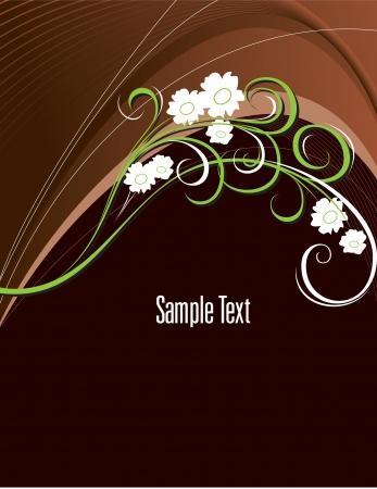 brown background: Background Format