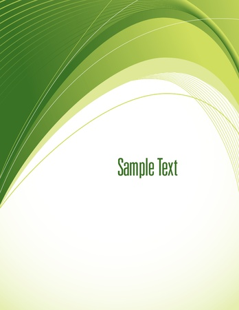 smooth curve design: Abstract Background  Vector Illustration