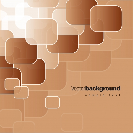 brown: Abstract Background  Vector Illustration  Illustration