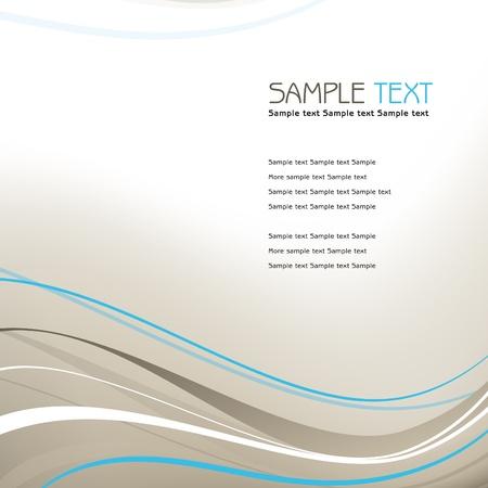 smooth curve design: Formato del fondo Vectores
