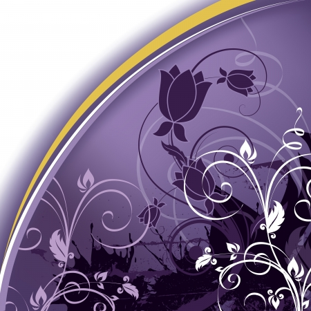 background abstraction: Floral Background