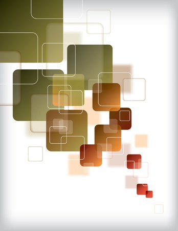 square shape: Abstract Background  Vector Illustration  Illustration