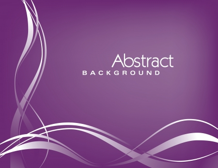 abstract waves: Vector Background