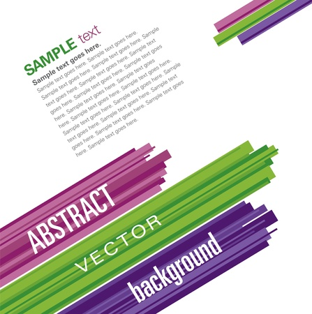 abstract forms: Vector Background