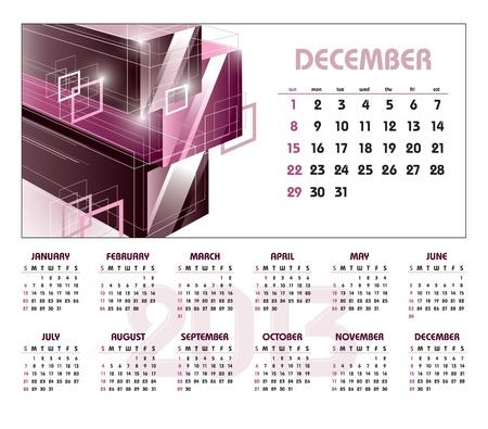 december: 2013 Calendar  December