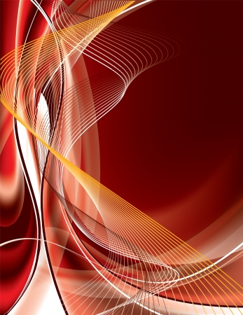 smooth curve design: Vector Background  Abstract Illustration