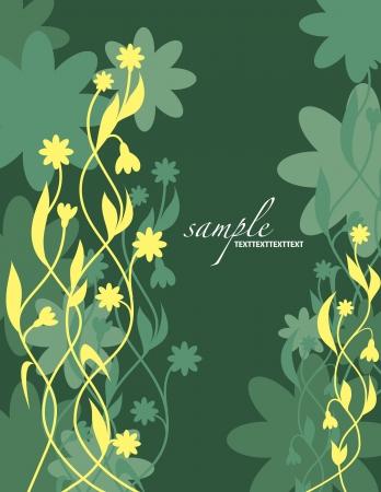 Floral Background   Illustration Banco de Imagens - 14667062