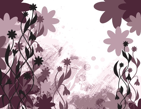 Floral Background Stock Vector - 14871273