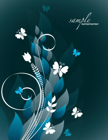 butterfly background: Abstract Background