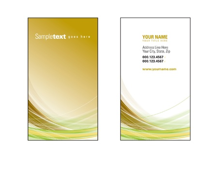business cards: Business Card Template
