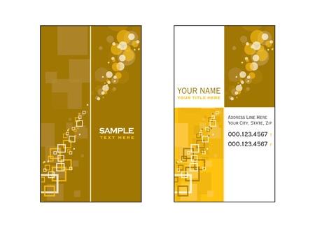 Business Card Template  Vector Eps10 Stock Vector - 14893765