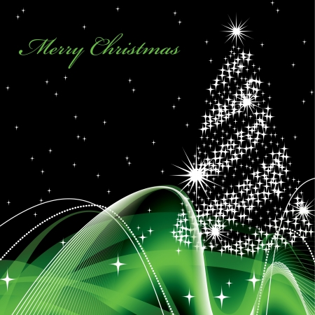 Christmas Background  Vector Illustration Stock Vector - 14895483