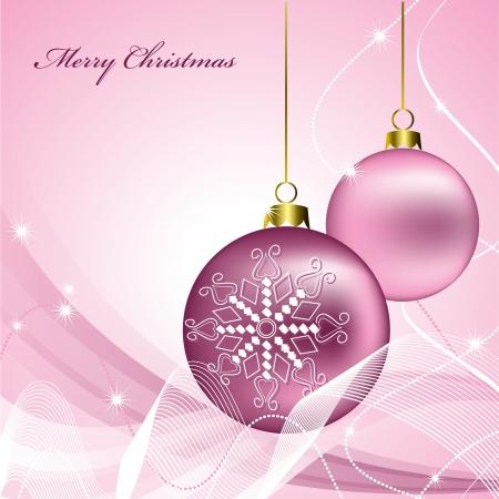 Christmas Background  Vector Illustration  矢量图像