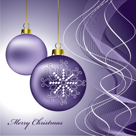 christmas decorations with white background: Christmas Background  Vector Illustration  Illustration