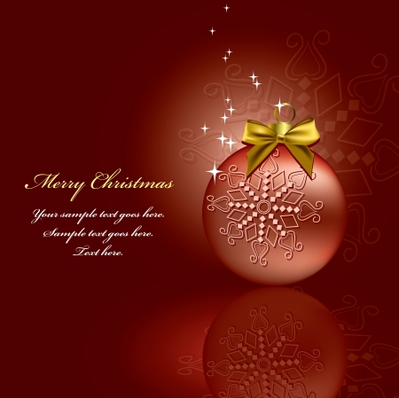 Christmas Background  Vector Illustration Stock Vector - 14895785
