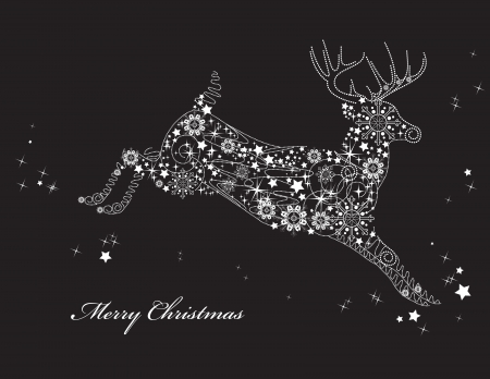 Natale sfondo illustrazione vettoriale Archivio Fotografico - 14895615